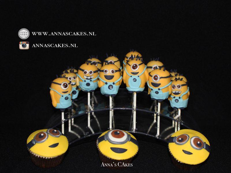 Minions cupcakes en cakepops