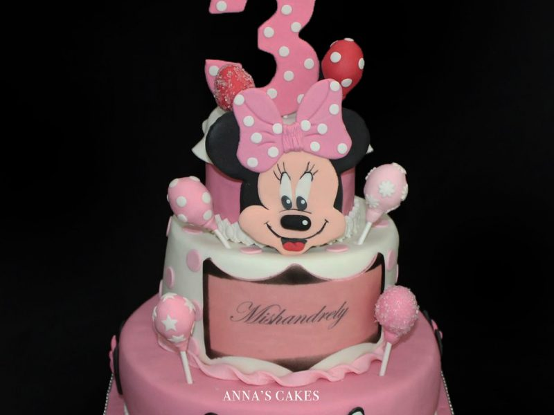 Minnie mouse meisjestaart