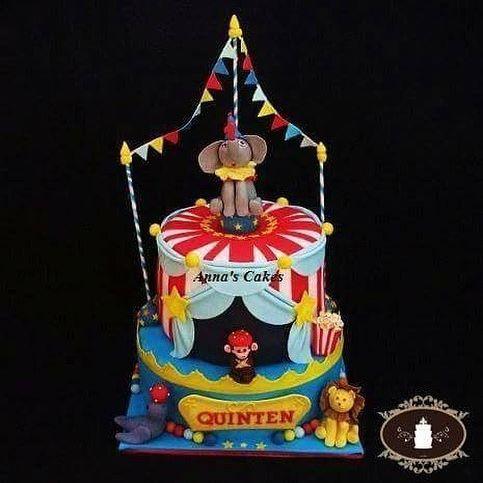 Kindertaart Circus