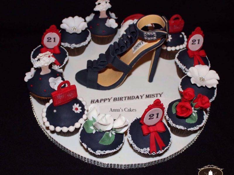 Fashionista cupcakes