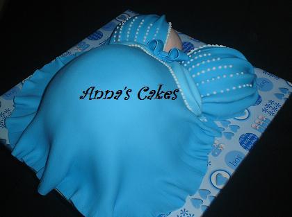 Zwangerschapstaart Anna's Cakes Enschede