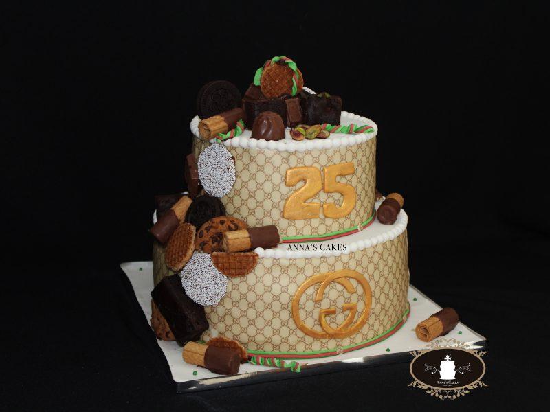 Gucci choco cake