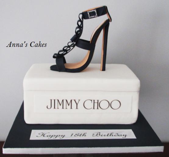 Jimmy choo taart