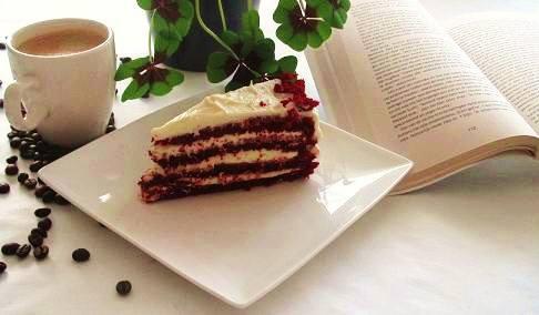 Red velvet gebak